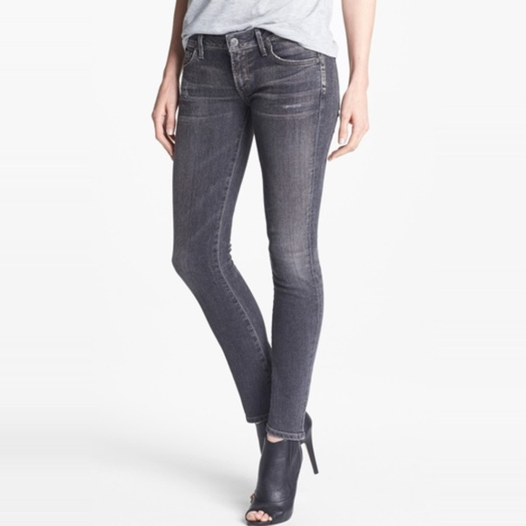 4690fec1f8b0 Citizens of Humanity Denim -  Citizens of Humanity  Racer Low Rise Skinny  Jeans